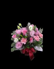 [어버이날 특가] 카네이션 바구니-핑크