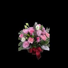 [바구니-426]카네이션 바구니-핑크