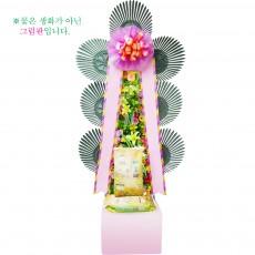 [축하]쌀화환20kg-1호